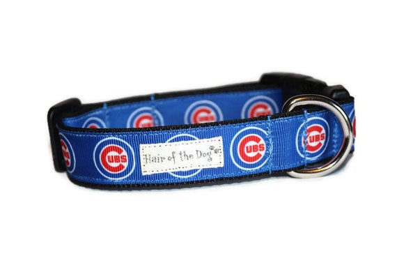 wholesale dealer 36e79 33dfa Chicago Cubs DoG Collar,dog collar,chicago,blue dog collar,cubby dog  collar,MLB dog collar,fun dog collar,baseball, cubs