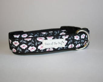 Pink and White Flowers DoG Collars