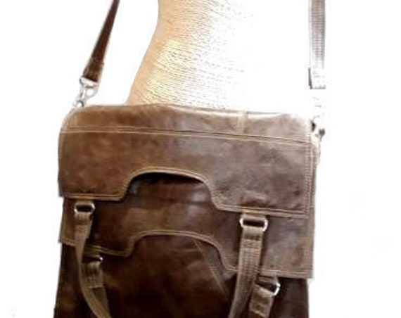leather bag,