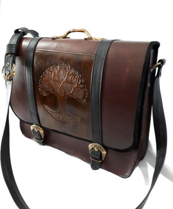 Laptop Briefcase, document leather, leather briefcase, satchel, leather suitcase Briefcase