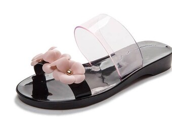 9b29e097fbfe6a Lulus summer classy jelly slippers - pink