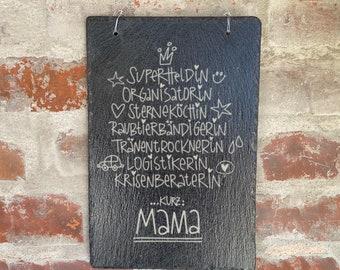 slate slab, door sign, garden decoration, slate sign, flower bed, slate board, front door sign, entrance decoration, entrance,