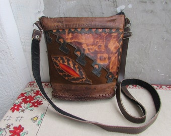21265c0635af Vintage Genuine Leather and Leatherette Shoulder Handbag