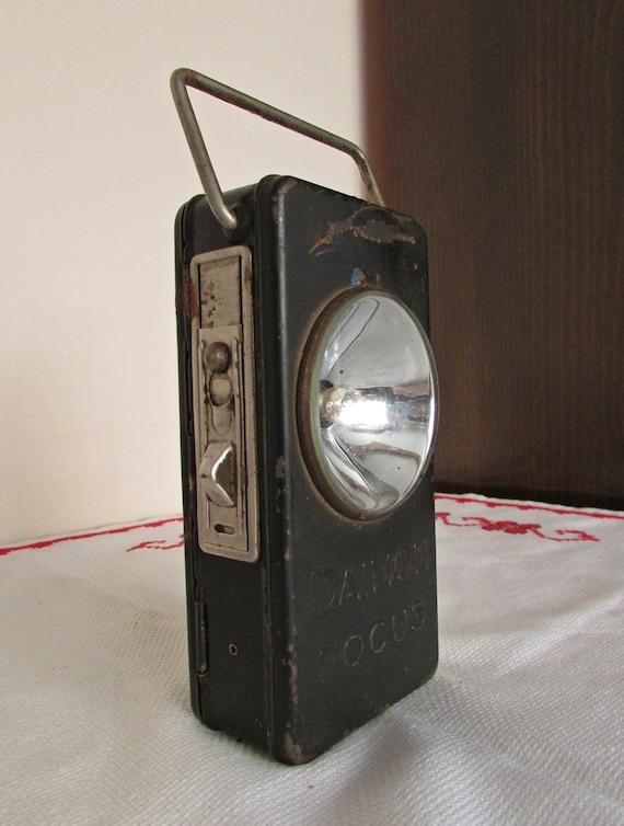 Vintage Daimon Mise Au Point Lampe De Poche Collection Etsy