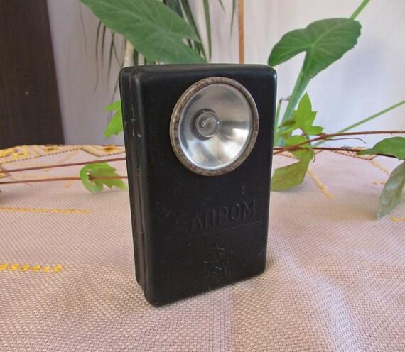 Chemin De Fer Vintage Lampe De Poche Lampe De Poche Metal A La