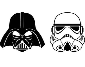 Star Wars Decal - Darth Vader Decal - Storm Trooper Decal