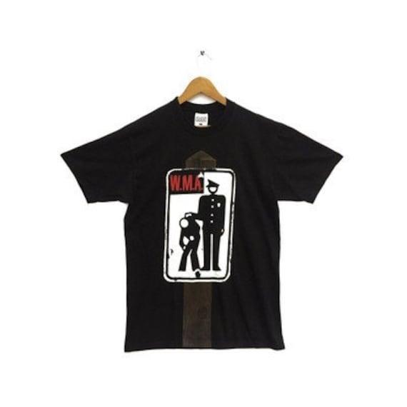 "Vintage 90s Pearl Jam ""W.M.A POLICE"" Tee"