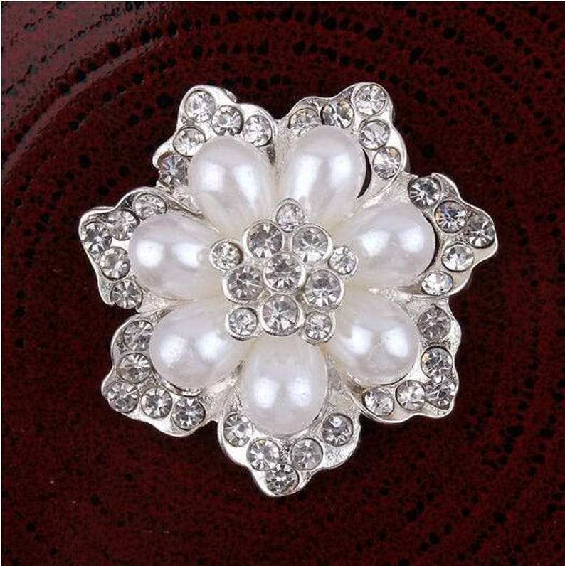 b5a36c3025 10pieces Free Shipping Ellipse Design Phone Decoration Buttons 14*22mm  Rhinestone Flower Disk Buttons for Wedding Birthday Party Decoration
