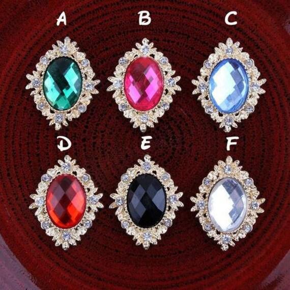 10pcs free shipping Rhinestone Buttons2532mm Buttons  e7f3480120e3