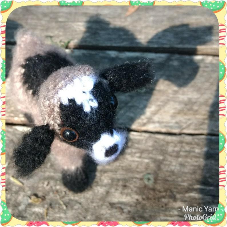 Gidget the Pygmy Goat Amigurumi Crochet pattern Farm Barnyard image 0