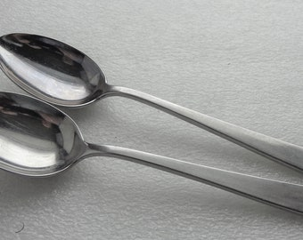 Lot of 2 Americana Lyon by International Stainless Dinner Fork Free Shipping