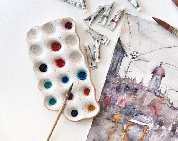 Ceramic Painters Palette