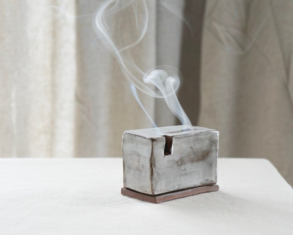 Smoke Box - Ceramic Cone Incense Burner
