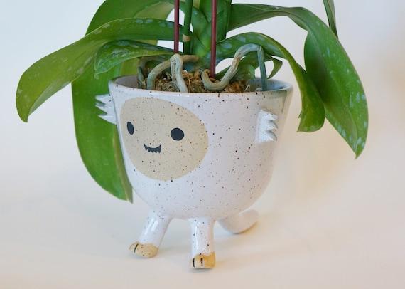 Ceramic Planter Pot Rex the Dinosaur