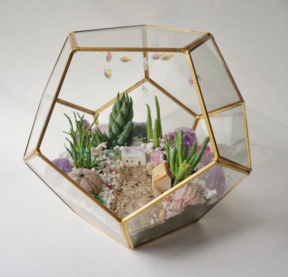 Magical Tiny House - Ceramic Terrarium Decor