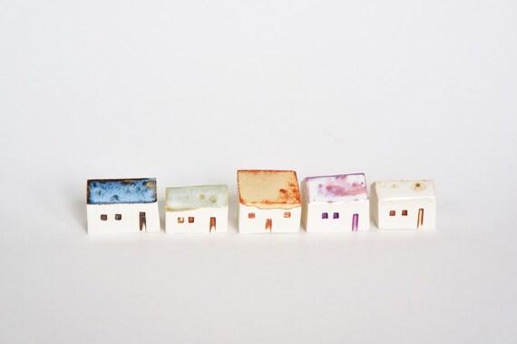 Magical Tiny House - Ceramic Terrarium Decor