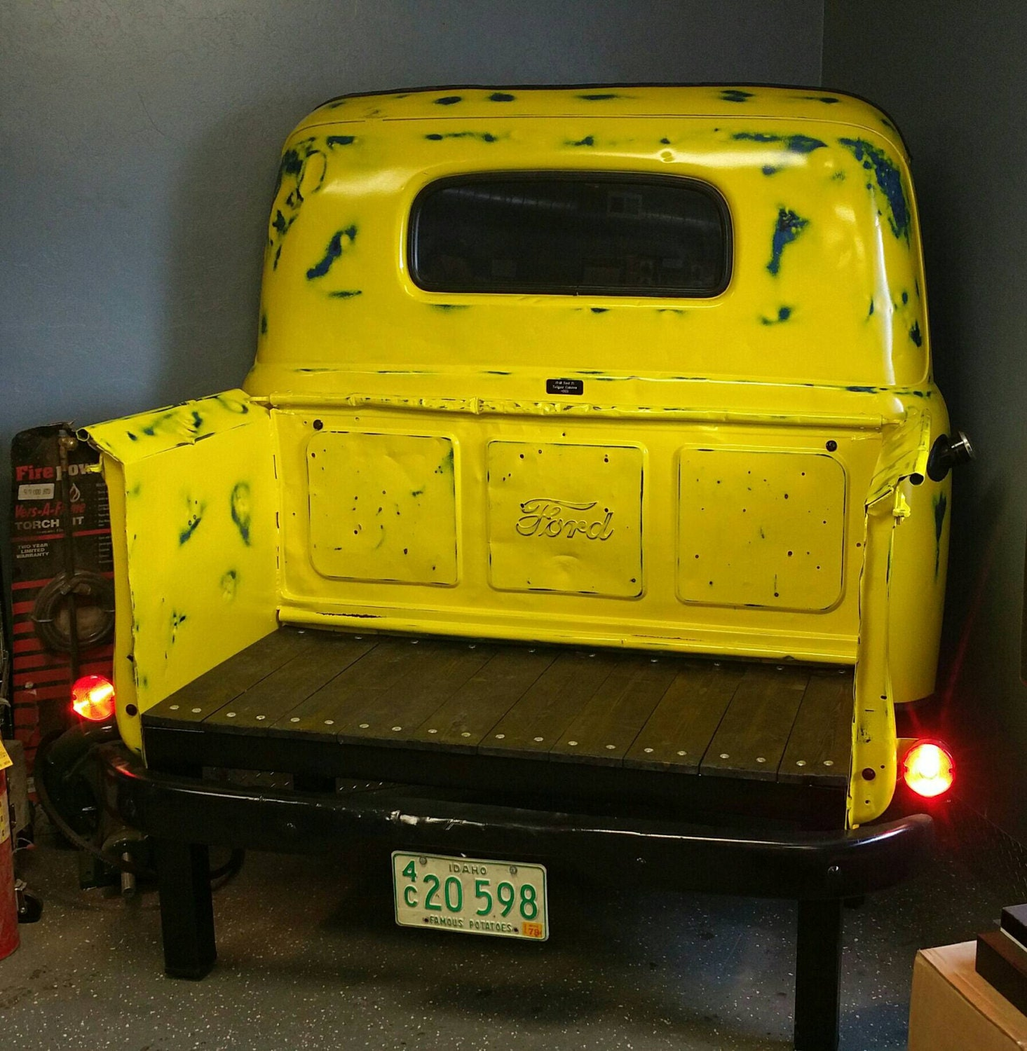 Classic Up Cycled Vintage 1948 Ford F 1 Truck Bench With Etsy Panel 4x4 Zoom