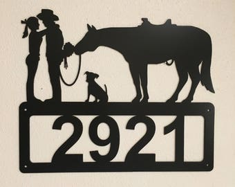 Kissing Couple Address Sign HN32A