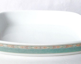 Aztec roasting dish - large tray - vintage Wedgwood Home Collection - 12 inches