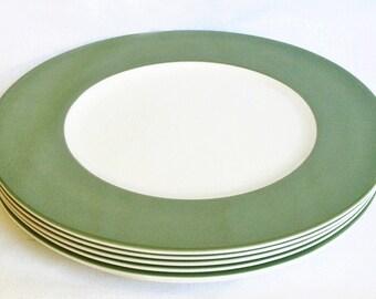 Asia Green dinner plates - set of six dinner large plates - Wedgwood Asia Green & Large dinner plate | Etsy