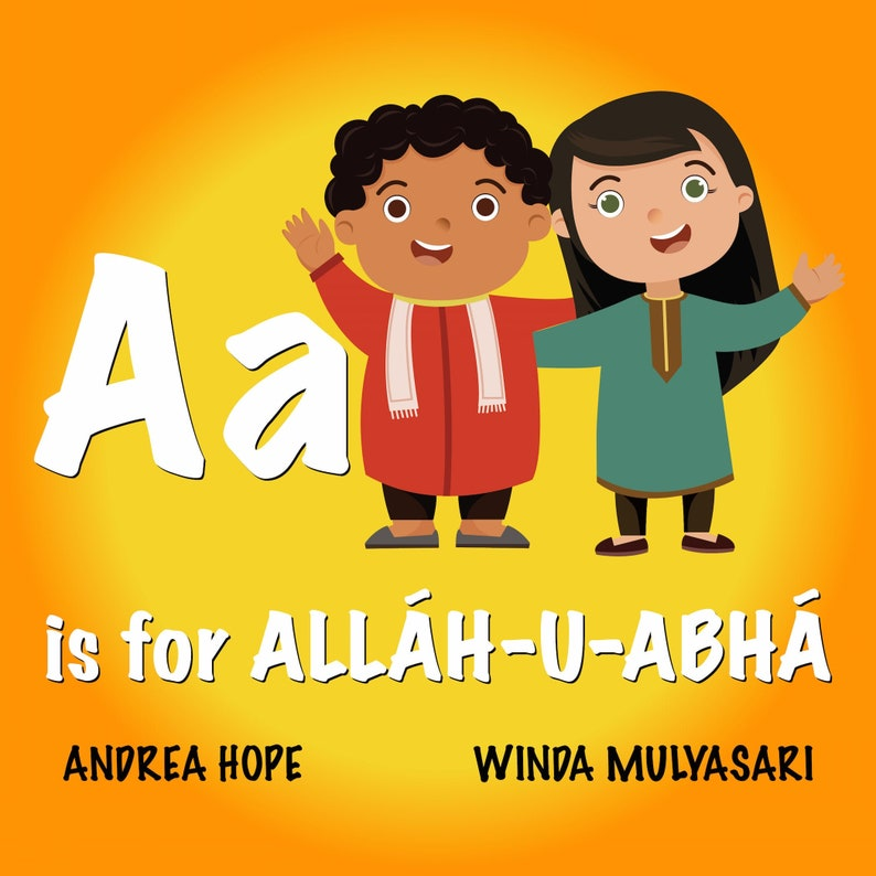 PRE-ORDER A is for Allah-u-Abha  ABC Alphabet Book of image 0
