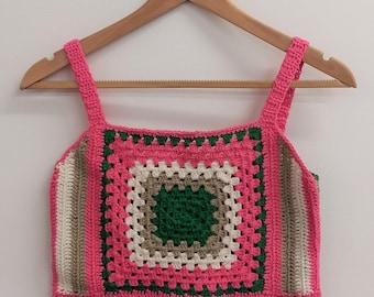 Crochet Granny Top