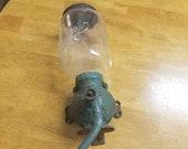 Antique Arcade Crystal No 3 Coffee grinder, cast iron grinder, hand grinder, vintage kitchen