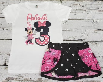 7bf8926e2c30d Minnie mouse birthday outfit | Etsy