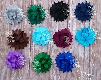 solid color mini bows
