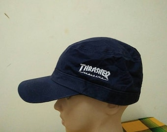 Rare Vintage THRASHER MAGAZINE Cap Hat Free size fit all 6394ed0a6b4