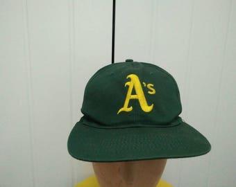 Rare Vintage OAKLAND ATHLETICS x GATORADE Big Logo Embroidered Cap Hat Free  size fit all 26e59d22a8a0