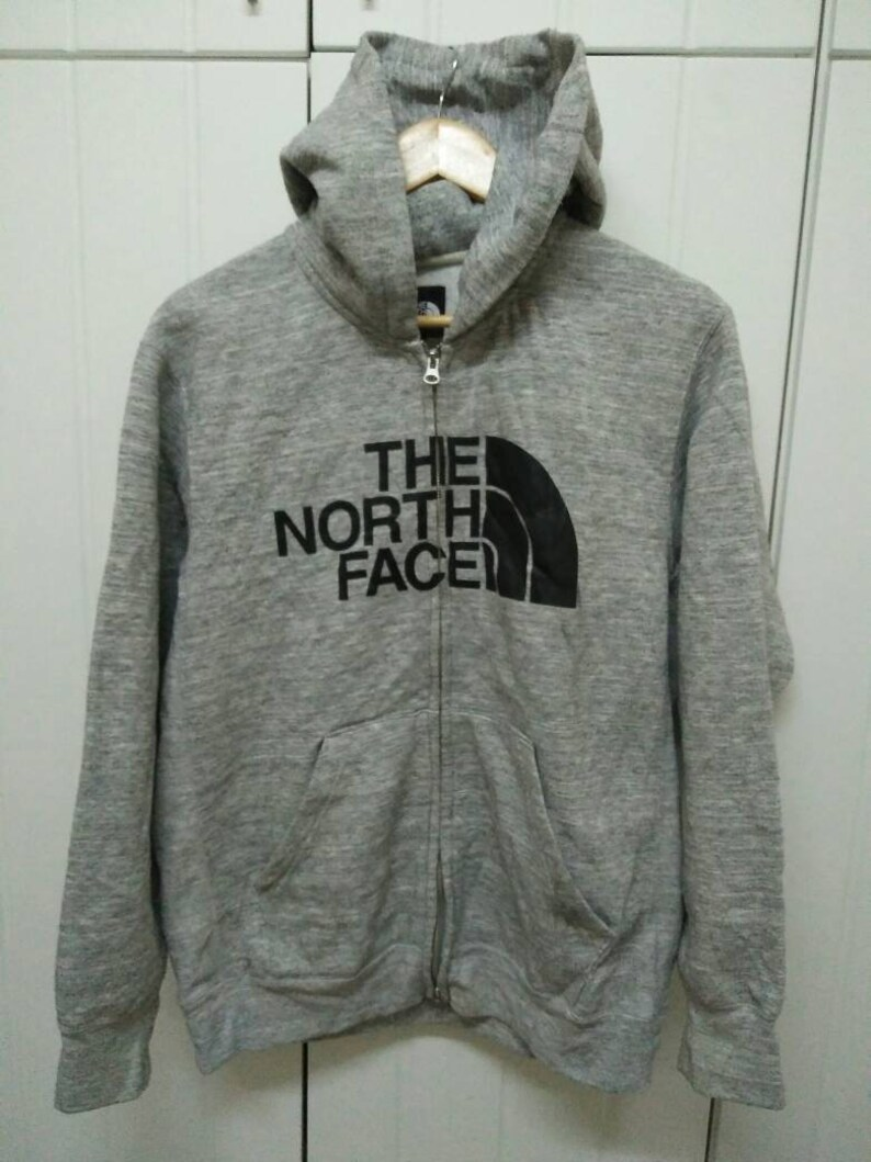 6a549ca6d Rare Vintage THE NORTH FACE Spell Out Hoodie Size xl Extra Large