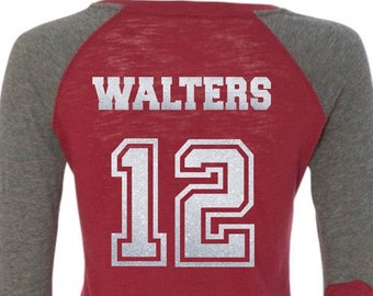 ADD Name & Number to back of shirt