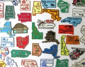Vintage State Magnets, Vintage Travel Souvenir, Choose Your State