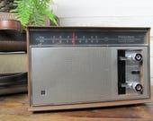 Vintage 1970s Panasonic Am Fm Stereo Radio, Vintage Radio, Mid Century AM FM Radio, Vintage Brown Radio, Made in Japan