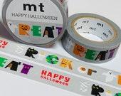 TRICK Or TREAT CHARACTERS Mt Halloween Washi Tape 1 Roll 15mm x 7m (23 Feet)
