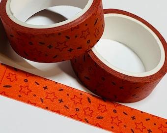 16 Feet HIDDEN SPOOKY EYES Halloween Washi Tape ~ 1 Roll ~ 15mm x 5m