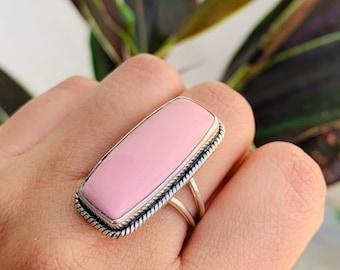 Nice Rare Australian Pink Opal 81cts 45x43x5mm Australian Pink Opal beautiful cabochon loose gemstone ZZ-616