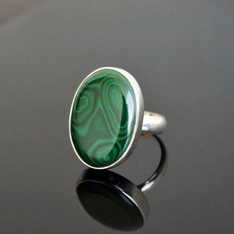 10.4 Gm Natural Dendrite Gemstone Ring Size 8.75 Dendrite Gemstone Sterling Silver Handmade Men/'s Ring SJ759