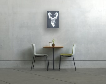 Wood wall art wall light wall decor wall lamp sconce wood wall art wall light wall decor wall lamp sconce stag aloadofball Images