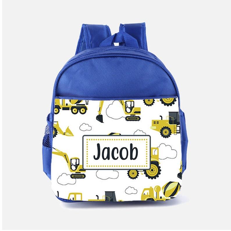 Printed Customised Kids School Rucksack Bag Personalised Name Mini Backpack