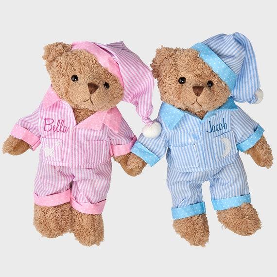 Personalised Memorial Keepsake Angel Teddy Bear Handpicked By Sister In Heaven