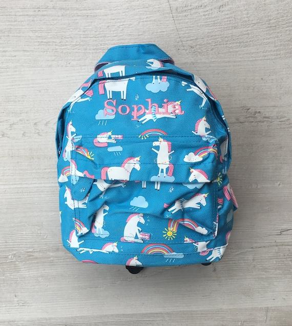 276fecf35c72 Personalised Kids Magical Unicorn Mini Backpack Custom Girls