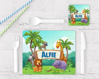 Placemats Personalized Children Etsy Ca