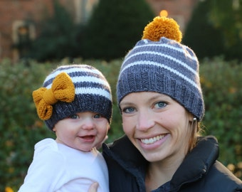 890b524cbc7 Mommy and Me Knit Hats