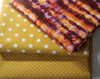 Öko-Tex Baumwollstoff Stoffpaket  5 x 50 x 140//150 sand