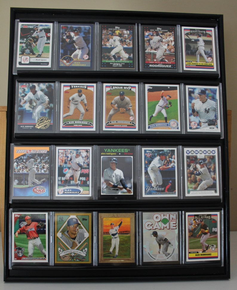 Alex Rodriguez Framed Baseball Card Wall Display New York Yankees