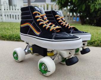 Custom Vans Roller Skates Vintage Skates & par SurfCitySkates