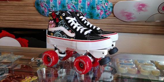 Custom Vans Outdoor Roller Skates w