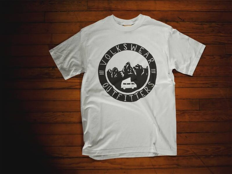 Volkswear Outfitters T shirt Vanlife gear westy vanagon image 0